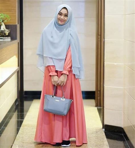 Baju Muslim Kekinian 20 Kumpulan Model Baju Muslimah Gaul Yg Menjadi Favorit