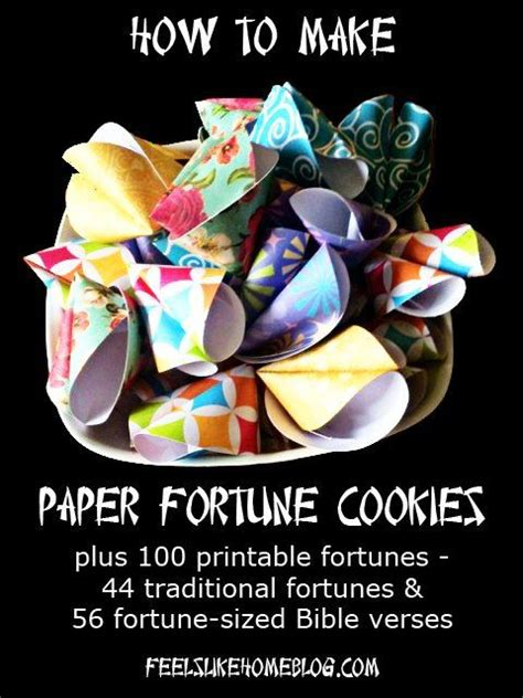 How To Make Paper Fortune Cookies - 1000 ideas about fortune cookie on cookies