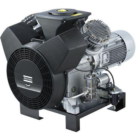 atlas copco le5 cv 5 hp 20 6 cfm 230 460 3 60v single stage splash base mount free