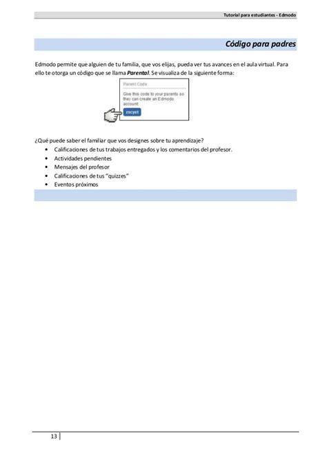 tutorial edmodo para alumnos tutorial alumnos edmodo