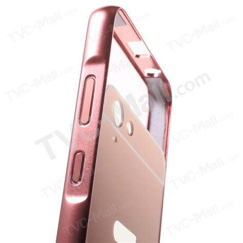 Mirror Lenovo Vibe K5 Plus Aluminum Bumper 1 mirror like pc back plate metal bumper cover for lenovo vibe k5 plus vibe k5 gold tvc