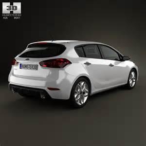 kia forte cerato naza k3 hatchback 2014 3d model