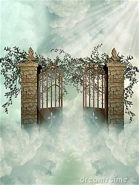 gateway   heaven royalty  stock  image