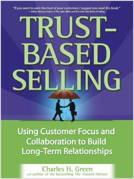 trusted books trust based selling the get real project