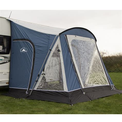 caravan awning groundsheet sunnc swift 220 deluxe blue caravan awning with