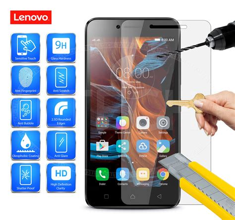 Tempered Glass Clear Lenovo A6020 K5 Plus Kaca Bening for lenovo a plus 100 genuine tempered glass screen protector ebay