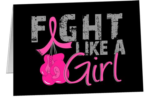 fight like a note cards notecards for breast cancer