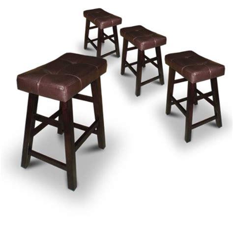 saddle back bar stools bypaulshop buy saddle back espresso bar stools for sale