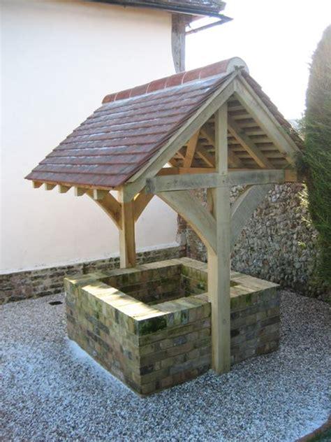 Garden Well by Besepoke Timber Garden Features Classic Suffolk Timberframes