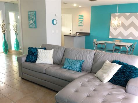 teal accent wall living room accents pinterest 94 grey living room with teal accents over to the