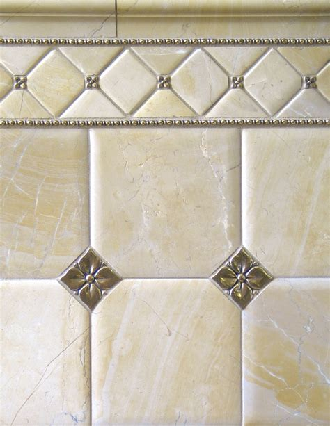 accent tiles for bathroom metal accent tiles bronzework studio lowitz company