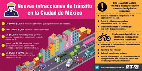 multas de transito estado mexico reglamento vial