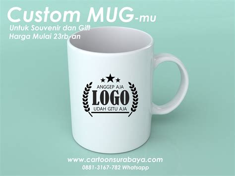jasa desain mug cartoon surabaya jasa online karikatur dan desain