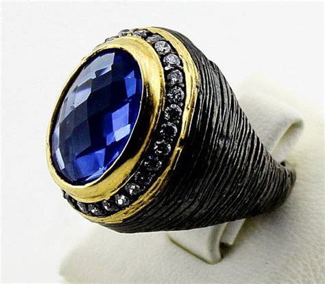 Cincin Blue Gugur 10 Ring Perak Handmade opening sale sterling silver ring blue topaz by