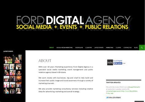 Manajement Relations And Media Komunikasi ford australia marketing strategy