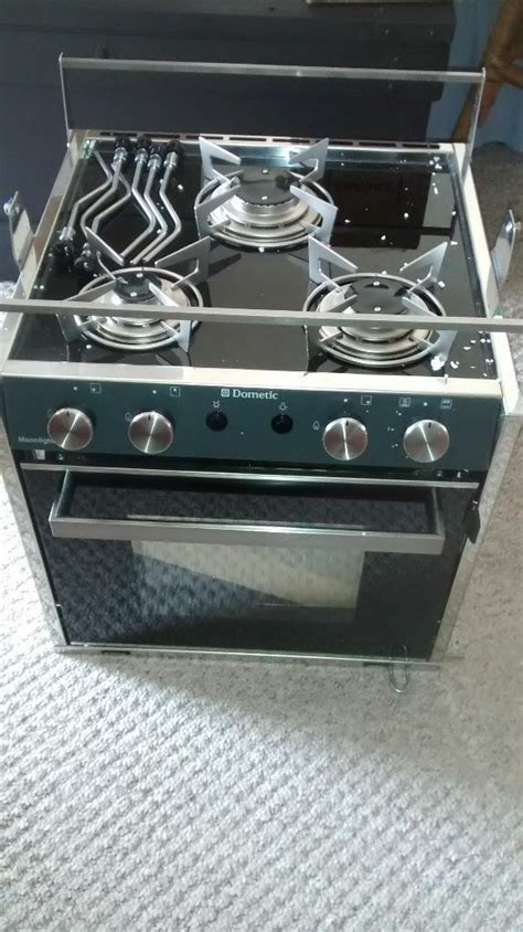 boat cooker cooker for boat motorhome etc dometic moonlight 3 burner