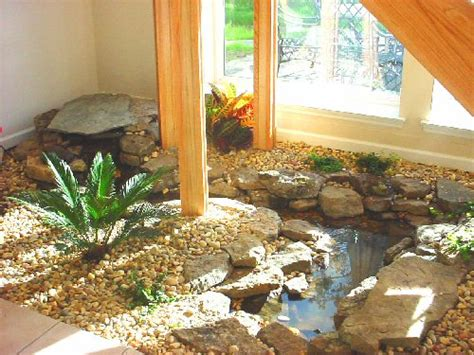 indoor pond backyard ponds backyard koi pond like the rocks around