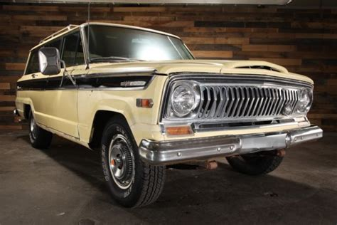 1970 jeep wagoneer for sale 1970 jeep wagoneer sj 4wd j 100 kaiser 81k 350 v8 at 66