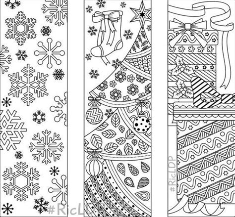 Coloring Page Bookmarks by 9 Coloring Bookmarks 6 Designs With By