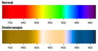 deuteranopia green color blindness colblindor