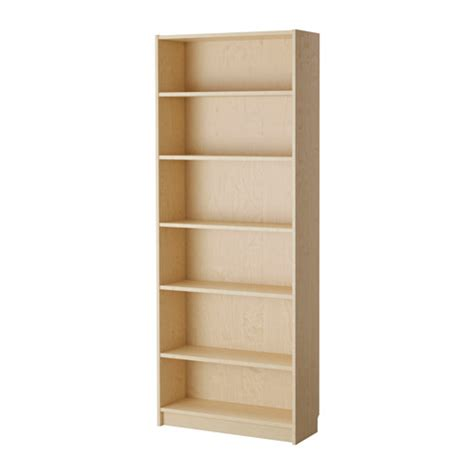 Billy Bookcases At Ikea Billy Bookcase Birch Veneer Ikea