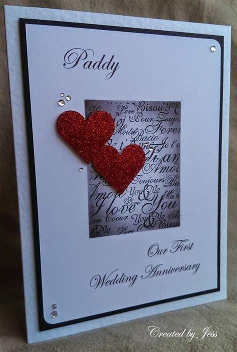 Anniversary Card For Husband Handmade - 1000 ideas about anniversary cards for husband on