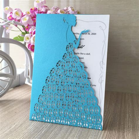 Wedding Invitation Card Shopping by Compare Prices On Invitation Card Size Shopping