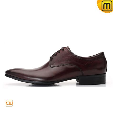 oxford style leather dress shoes for cw762011