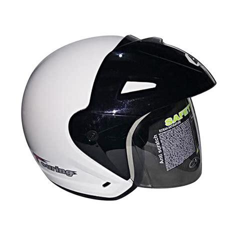 Helm Bmc Touring Hitam Dop Jual Bmc Touring Helm Half White Harga