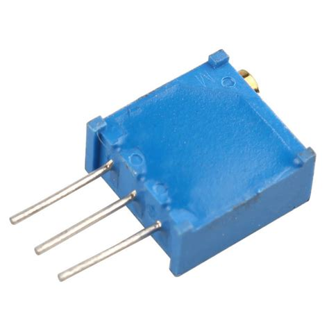 1m variable resistor 3296w 100r 1m variable resistor potentiometer blue free shipping dealextreme
