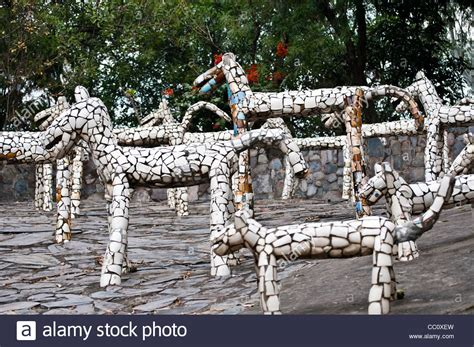 rock garden india sculptures rock garden by nek chand chandigarh india