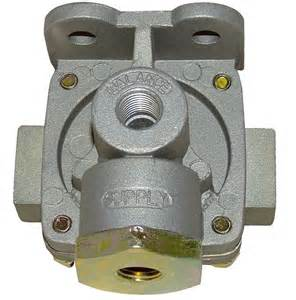 Air Brake System Release Valve Qr1c Replacement Combination Release And