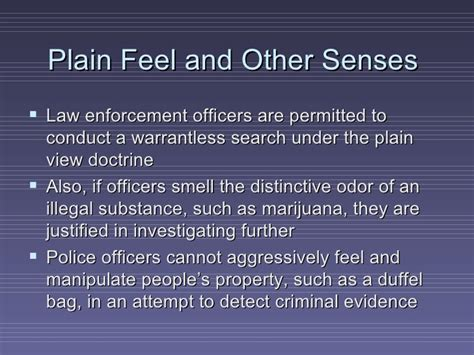 A Officer Is Justified In Conducting A Warrantless Search In Which Chapter 7