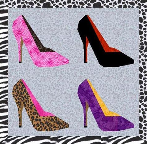 pattern for paper high heels pin by glenda oliver on quilt wish list pinterest