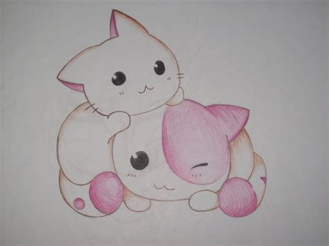 imagenes kawaii gatitos kawaii dibujos gatitos