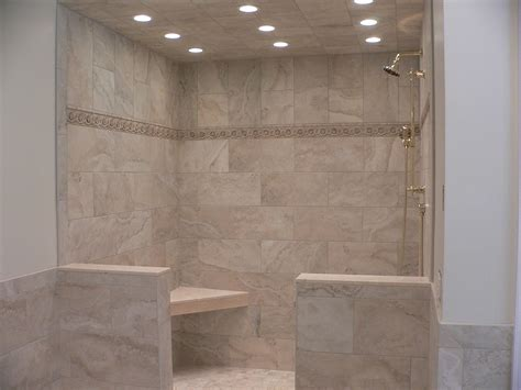 10 floor above 10x20 inch shower tile 12x12 inch above detail