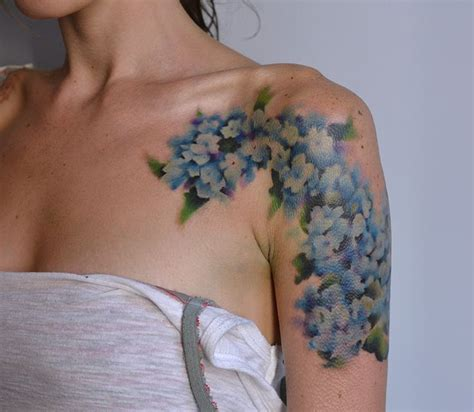 watercolor tattoos nashville 25 best ideas about hydrangea on