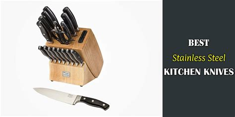best stainless steel kitchen knives reviews and guide for 2018