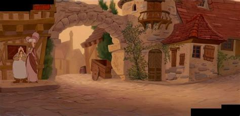 beauty and the beast village beauty and the beast village background image mag