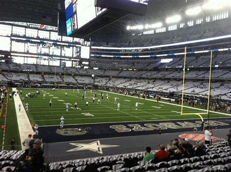 cowboys stadium sections at t stadium section 150 dallas cowboys rateyourseats com