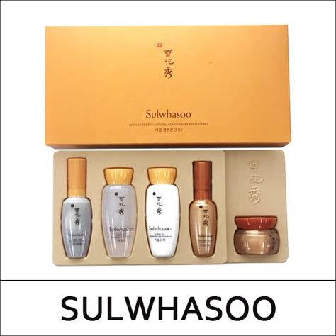 Sulwhasoo Ginseng Ex set item sulwhasoo sle tt concentrated