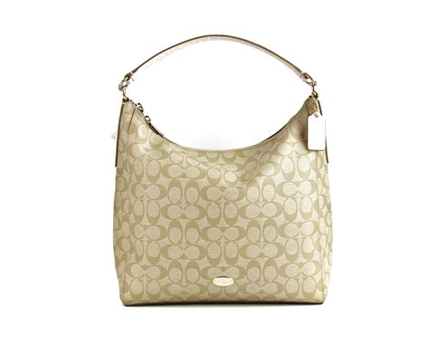 Coach Celeste Hobo Sign Khaki Chalk 2 purchase pals llc on walmart seller reviews marketplace ranks