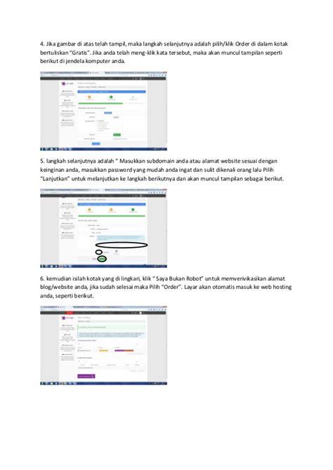 langkah membuat website gratis langkah membuat website sendiri