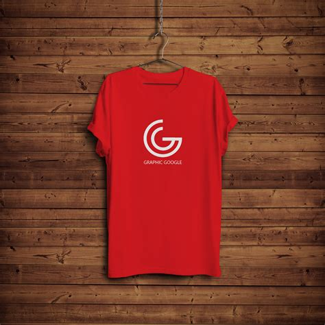 T Shirt Kaos Wood free t shirt mock up with hanger wooden background