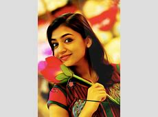 Best Pics Store: Nazriya Nazim (Actress) Cute Pics Collection Happy Engagement Wallpapers