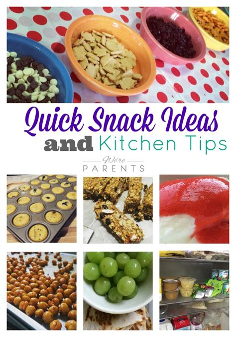 Snack Kitchen by Snack Ideas And Kitchen Tips Were Parents