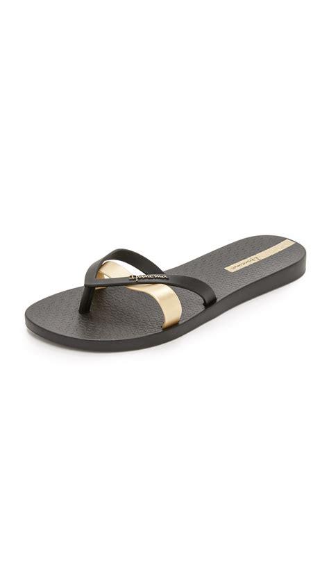 ipanema shoes ipanema kirei sandals in metallic lyst