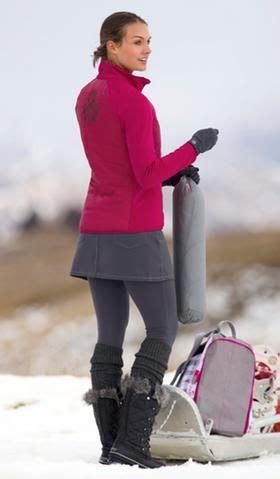 ive  wearing  winter mini skirt leggings