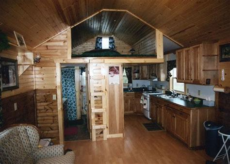 deluxe lofted barn cabin finished google search tiny
