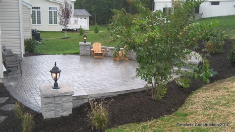 Patio Designs For Sloped Yards Deck Patio Maryland